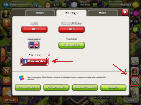 configuracion-clash-of-clans-facebook