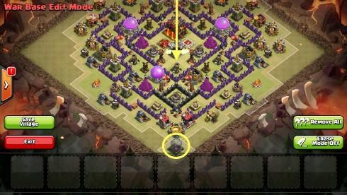 colocar tropas en clash of clans