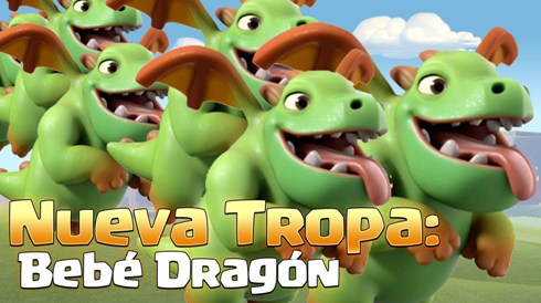 bebe dragon clash of clans