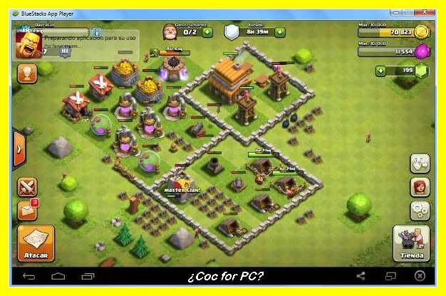 clash of clans game for pc without bluestacks