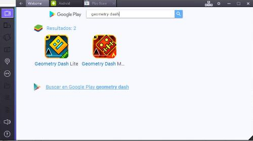 buscar-geometry-dash-en-bluestacks