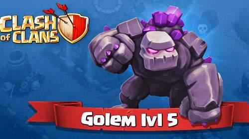 golem-level-5-clash-of-clans