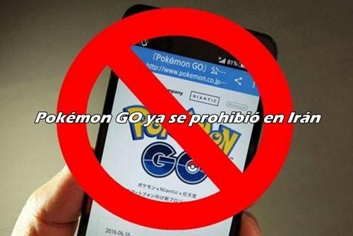 pokemon go prohibido en iran