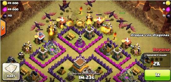 ataque-dragones-clash-of-clans