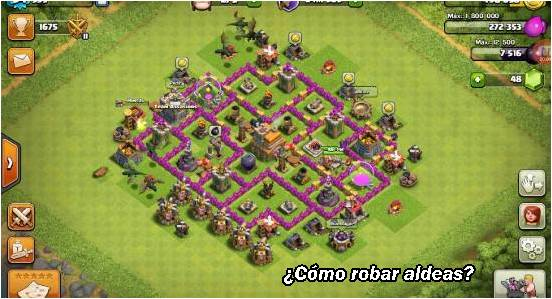 como-robar-aldeas-en-clash-of-clans