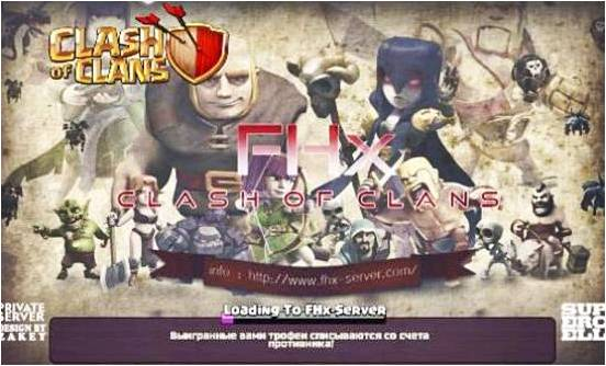 privater mod server of clash of clans