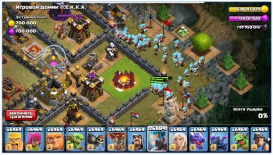 download fhx clash of clans mod apk unlimited gems free