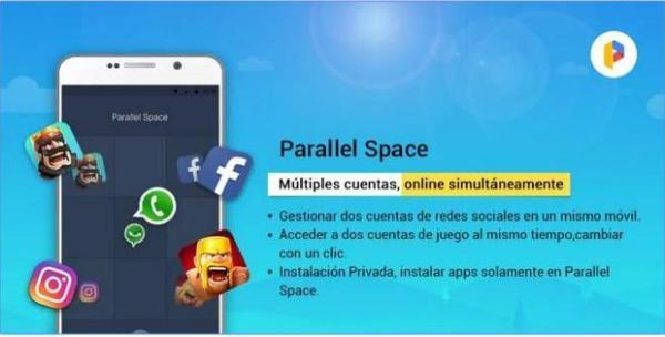 parallel-space-2-cuentas-clash-royale