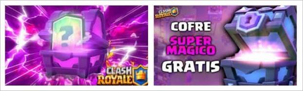 comprar-cofres-magicos-clash-royale
