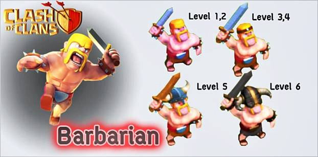 levels-barbarians-clash-of-clans