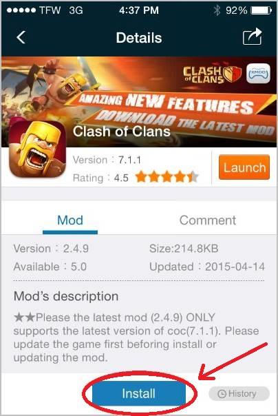instalar-mod-clash-of-clans-xmodgames